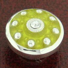 Authentic Kameleon KJP732 Apple Martini Green Enamel Jewelpop Sterling Silver