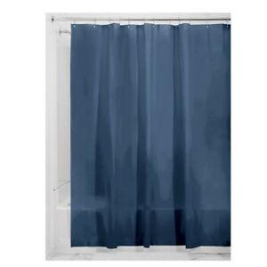Das Bild Wird Geladen Duschvorhang Schimmel Mit Magneten Gratis PEVA Navy Blau