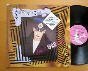 Culture-Club-The-War-Song-Dance-Mix-12-034-Single-1984-EXCELLENT-no-poster