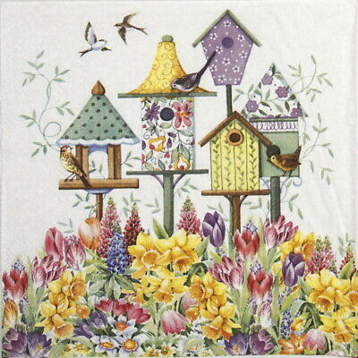Basking In Summer 4x Paper Napkins for Party Decoupage Craft