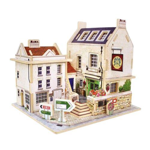 1:24 Miniatures Dollhouse Apartment Villa Furniture Kit Birthday Xmas Gift