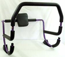 Purple Ab Roller Abdominal Exercise Crunch Machine Rocker Brenda Dykgraf GUC!