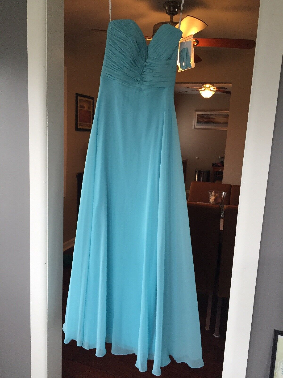 Vivian Diamond Bridesmaid Dress Size 0