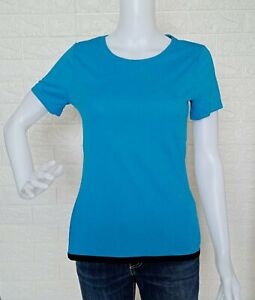 Adidas Climachill Blue Shirt T-Shirt Blouse size Small