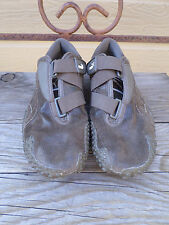 Puma Brown Suede Velcro Strap Athletic Sneakers Women's Size 9