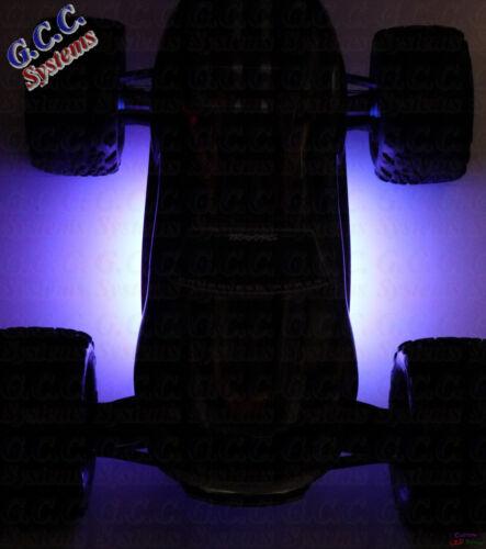 2x Waterproof PURPLE RC Car Rear Under LED Lighting KIT 150mm  E-REVO