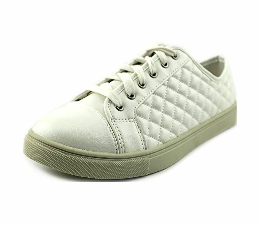 Madden Girl Evettee Women US 6.5 White Fashion Sneakers