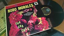 NORO MORALES CHA CHA CHA'S DESIGN COMPATIBLE STEREO/MONO RECORD ALBUM