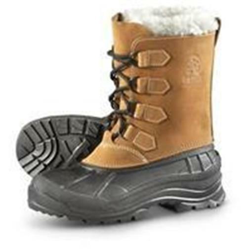 Nuevo Para hombres KAMIK ALBORG tan paso fuera de Invierno botas de piel de línea de PAC 8 Impermeable
