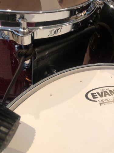 cRASHbar Finish Protector Prevents Snare and Tom Drum Shell Rash DDrum !