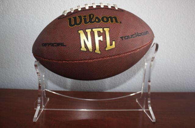 Premium Clear Acrylic Football Display Holder Ball Stand Modern Enchanting Football Stands Display