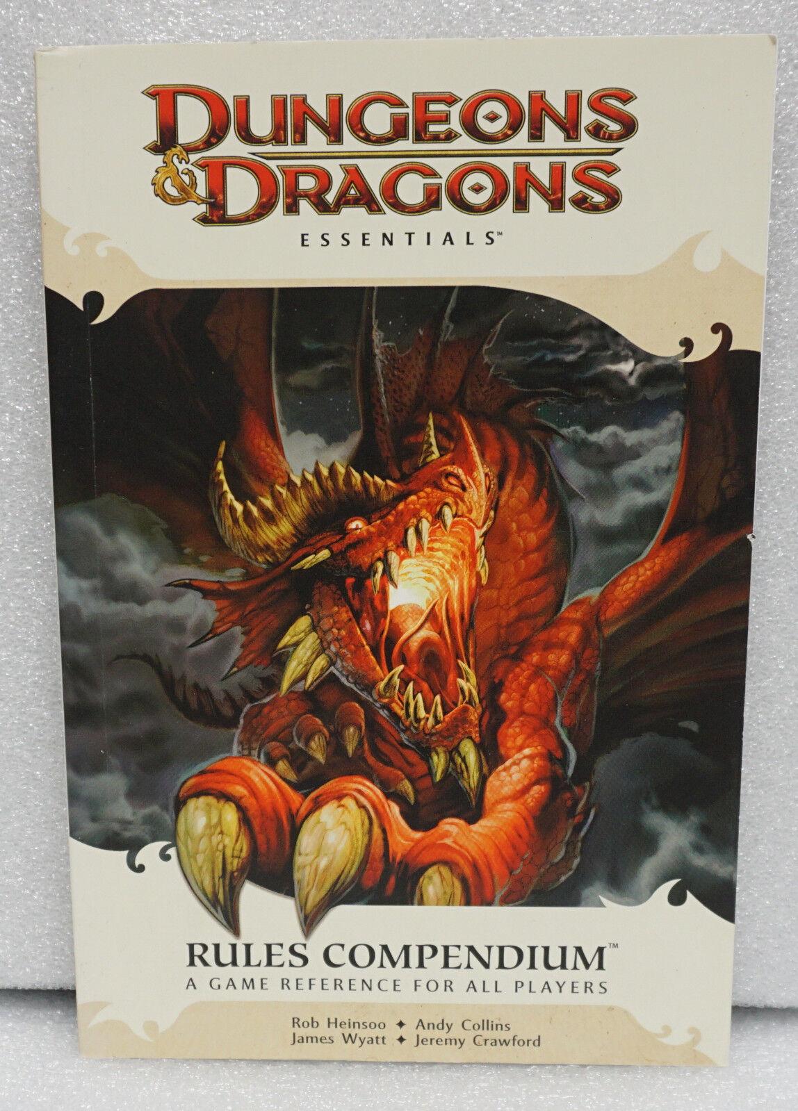 Dungeons  & Dragons D&D Essentials Rules Compendium  alla moda
