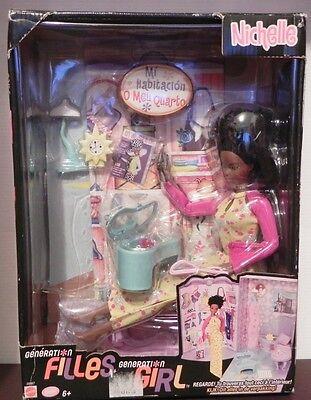 2019 Moda Barbie Nichelle Black #28987 Mattel New Doll Puppe Pop Docka Muneco Nib Prezzo Di Vendita