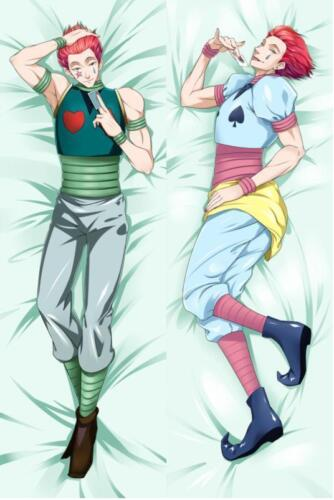 Male Anime Hunter x Hunter Hisoka Csai Dakimakura Hugging Body Pillow Case Cover