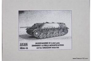 ATAK-Model-SE35-13-1-35-Zimmerit-Jagdpanzer-IV-48-late-Field-Modificatio
