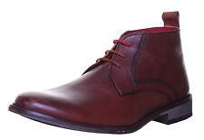 Justin Reece Scott Premium Brown Leather Men's Chukka Boots UK 8 EU 42 BNIB
