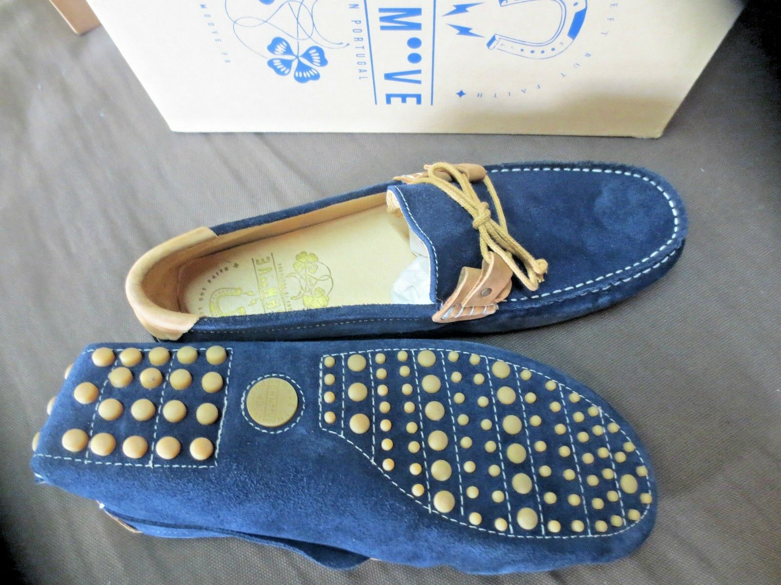 SCHMOOVE panama Wert Reef Wildleder Marineblau cuoio Wert panama 110e Schuhgrößen,43,44,45 3e5829