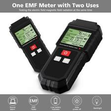 Lcd Electromagnetic Radiation Tester Electric Amp Magnetic Field Dosimeter Meter