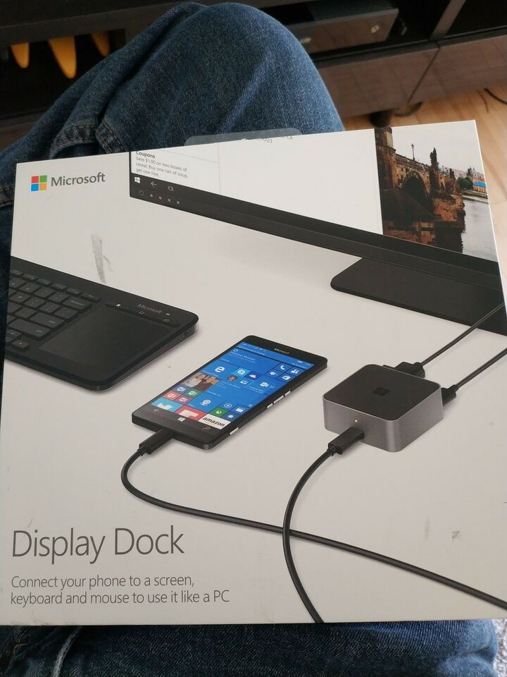 Dockingstation, Microsoft, God