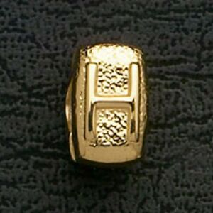 European-Beads-Charms-Initial-H-Gold-Plated-Stainless-Steel-Charm-Bracelet-Bead
