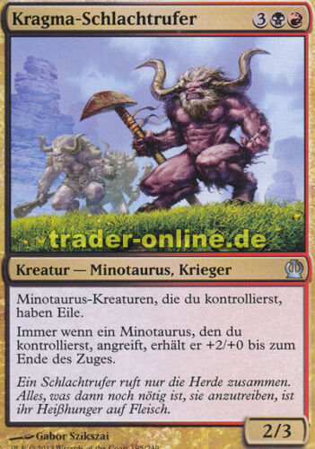 Kragma Warcaller 2x Kragma-Schlachtrufer Theros Magic