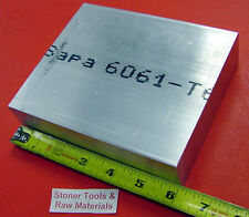 """2 pieces 1-1/4"""" X 6"""" ALUMINUM 6061 FLAT BAR 6"""" long Solid T6511 Plate Mill Stock"""