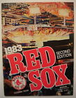 BOSTON RED SOX vs Yankees 1983 SCOREBOOK MAGAZINE PROGRAM 2nd Ed. Eckersley RICE