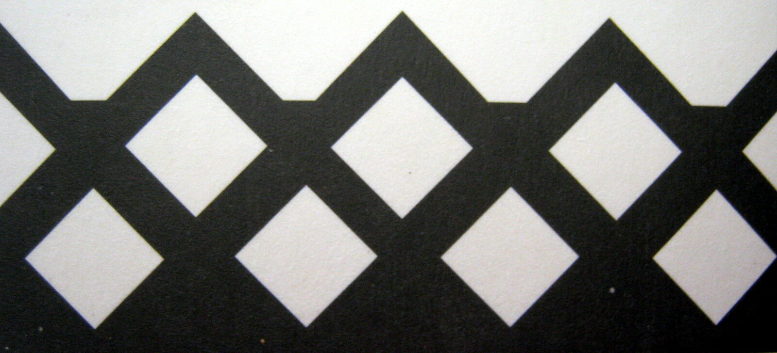 Fiskars DIAMONDS Continuous Border Punch Scrapbook Paper Intricate Weave NIP
