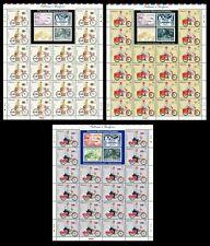 Postman's Uniform  Malaysia 2012 Vehicle Bicycle Motorcycle (stamp sheet) MNH