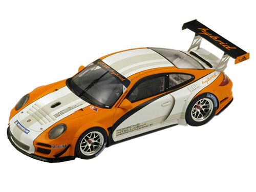 Porsche 911 997 GT3 R Hybrid 2010 1 18 par SPARK 18S059