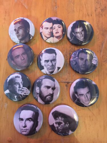 Montgomery Clift NEW 1.5 inch pins buttons badges icon 11 Buttons in all.