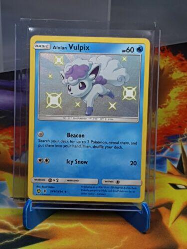 Pokemon TCG Alolan Vulpix SV 8//94 Hidden Fates Near Mint