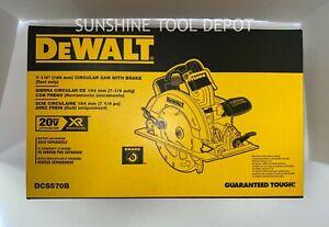 "DeWalt DCS570B 20V MAX 7-1/4"" Cordless Circular Saw (TOOL ONLY)"