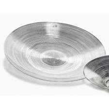 Verre 12 cm environ Sandra Rich plaque de verre avec capot sur pied Cover H 35 cm D