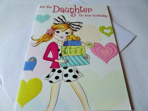 For You Daughter On Your Birthday...........Birthday Greetings Card