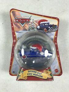 2011 Disney Cars Mattel Pixar Decked Out Doc Hudson V3360 NIB
