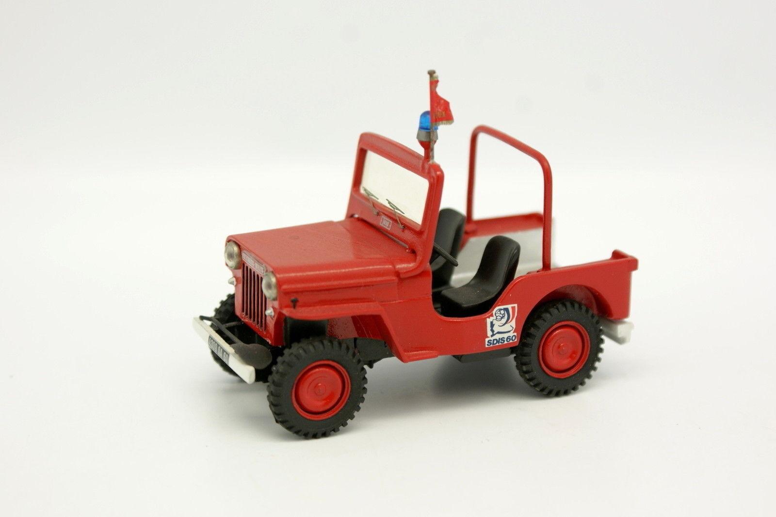 Kit Assembled Metal 1 43 - Hotchkiss Jeep JH 102 Firefighters 60