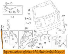 GM OEM Liftgate Tailgate Hatch-Actuator Rod 20812019