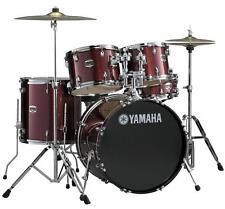 Yamaha Gigmaker Standard 5 Piece Drum Set *with Hardware* - Burgandy Glitter