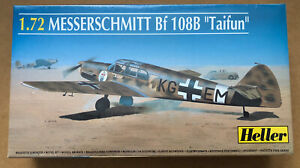 "Heller Model Kit Messerschmitt Bf 108B ""Taifun"" Scale 1:72"