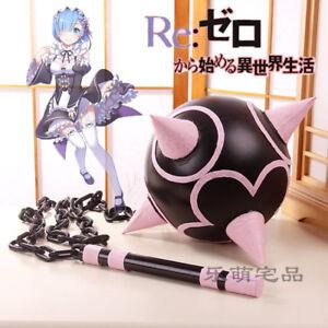 Kostüme Cosplay Re:zero Kara Hajimeru Isekai Seikatsu Anime Meteorhammer Meteor Hammer Das Ganze System StäRken Und StäRken
