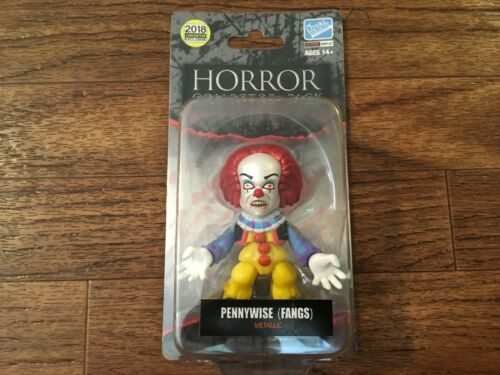 Loyal Subjects 2018 San Diego comic-con Exclusive Pennywise Fangs Metallic Horreur-LE neuf Cardé