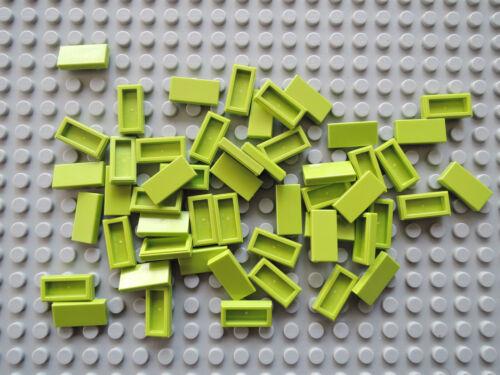 LEGO 25 X PIASTRELLA PIASTRELLE 3069b LIME LIME BRILLANTE VERDE 1x2