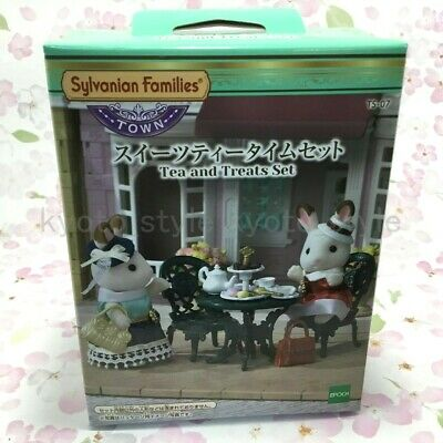 Sylvanian Families TEA AND TREATS SET Town Series TS-07 Epoch Calico Critters