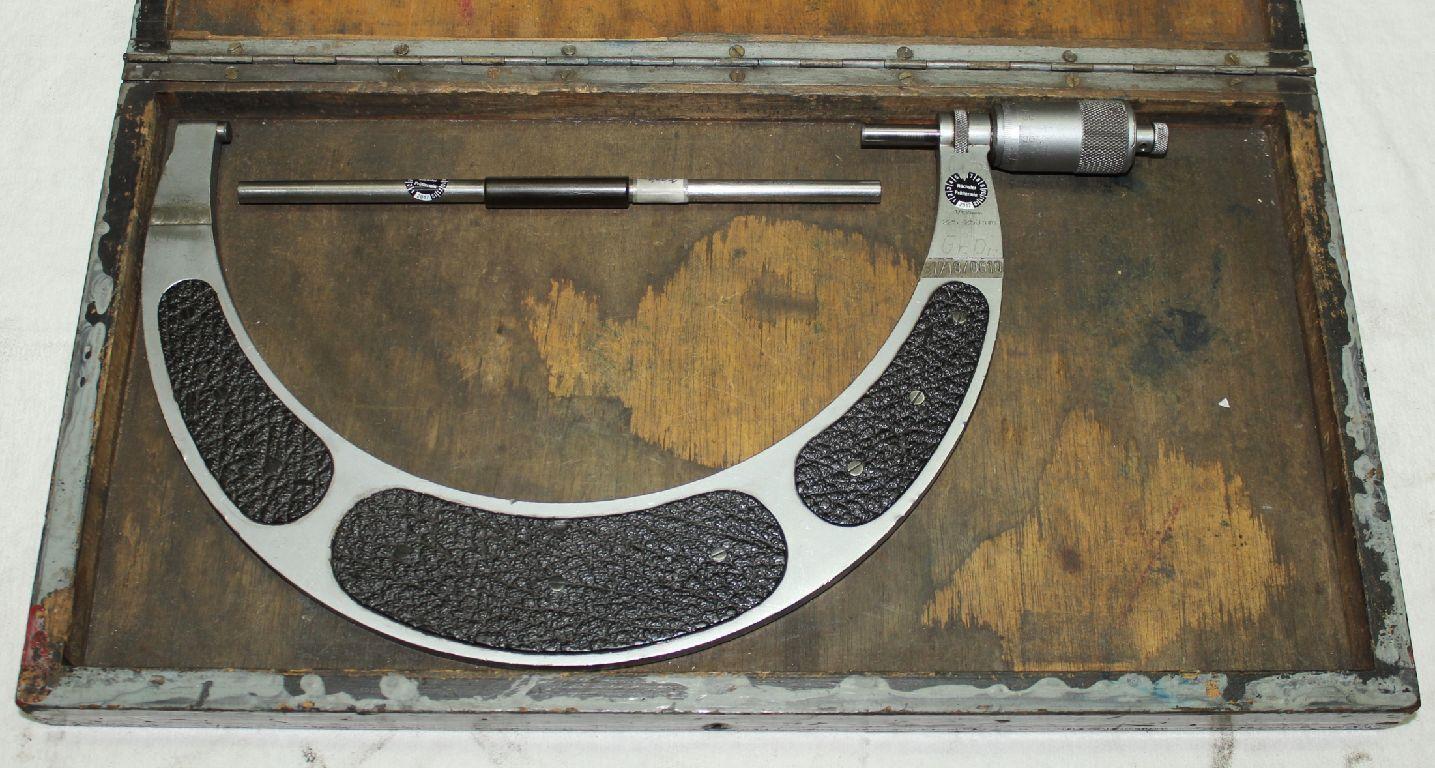Bügelmessschraube Mikrometer Messschraube - MAHR - 225 bis 250 mm - 0,01