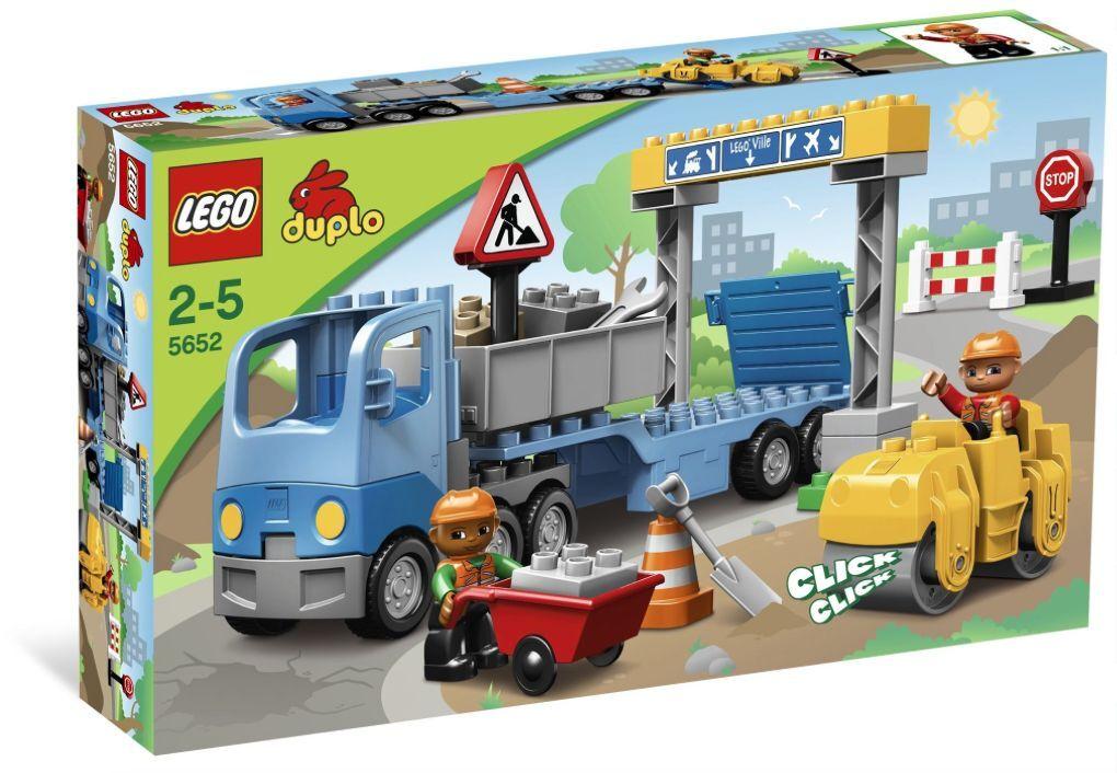LEGO® DUPLO® 5652 Straßenbau NEU OVP_ Road Construction NEW MISB NRFB