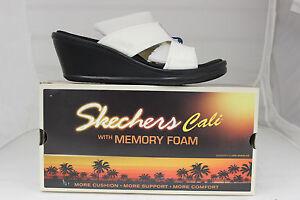 Donna Taker Bianco Nuove 38470 Cali In Memory risk Rumblers Foam Skechers OxIwOqrZ