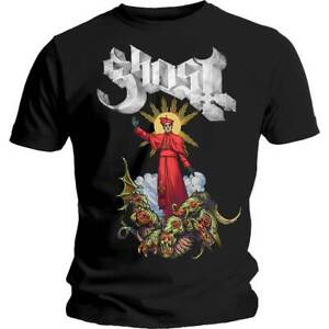 GHOST-Plague-Bringer-Mens-T-Shirt-Unisex-Tee-Official-Licensed-Band-Merch