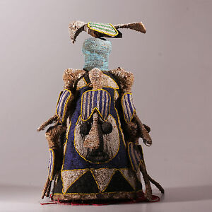 8266-Fine-Yoruba-Beaded-headdress-Nigeria