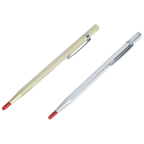 Tungsten steel pointed pocket clip scriber scribe for metal glass ceramics lo
